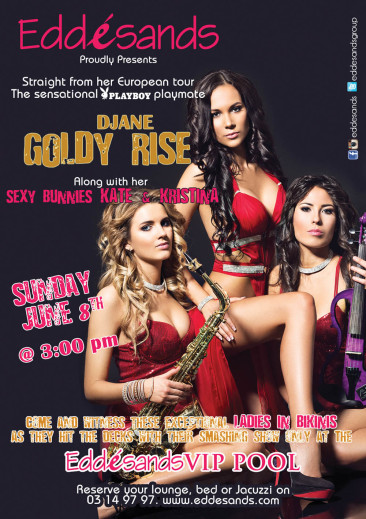Goldy Rise at Edde Sands – June 8 2014