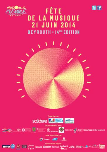 Fete de la musique 2014 – Programme Beyrouth