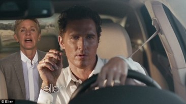 Ellen's parody is the perfect answer to McConaughey's annoying Lincoln ads!