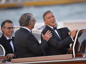 First photos of the Clooney, Alamuddin wedding!