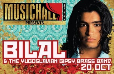 Book Your Tickets Now! Bilal & The Yugoslavian Gipsy Brass Band Live at MusicHall Beirut