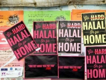 In Hamra Street, Go Halal or Go Home