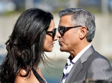 George Clooney and Amal Alamuddin Kick Off Wedding Festivities in Venice