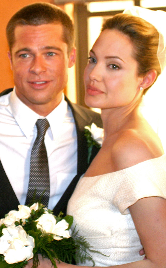 Brad Pitt Angelina Jolie Wedding