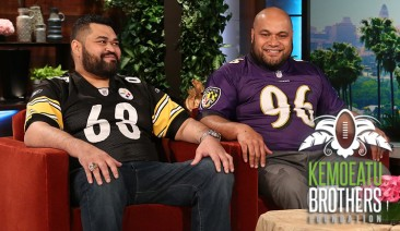 The Kemoeatu Brothers are making headlines for a very different and heartwarming reason!