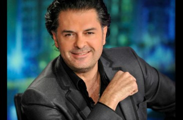 Ragheb Alama all smiles after appearing on Italian TV