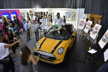 MINI gets creative at the Beirut Art Fair 2014