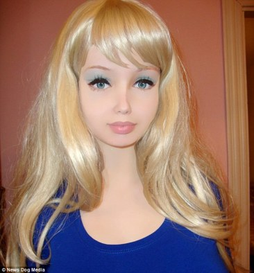 Yet ANOTHER 'Human Barbie' emerges from Ukraine