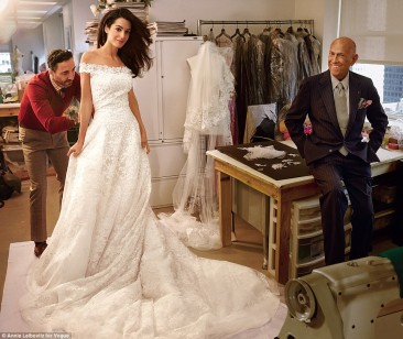 PEOPLE, say Hello! to Amal & George's exclusive wedding photos