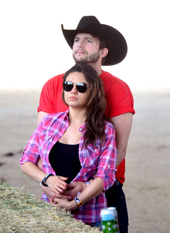 Mila Kunis and Ashton Kutcher Reportedly Welcome a Baby!