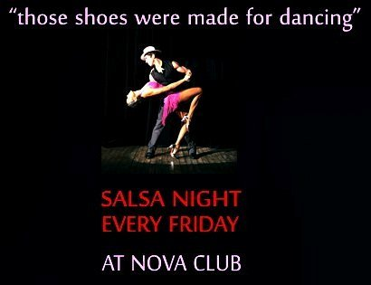 Shake it Up! Salsa Night Tomorrow at Nova Club