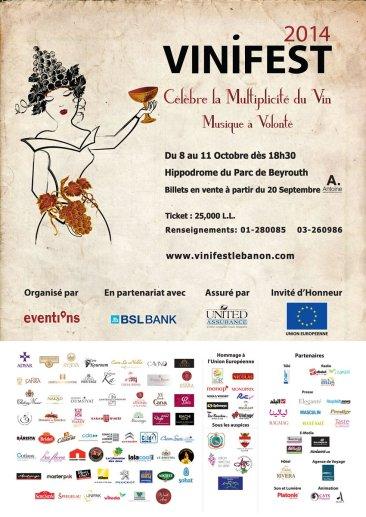 Don't miss Vinifest 2014 – Lebanon Wine Festival
