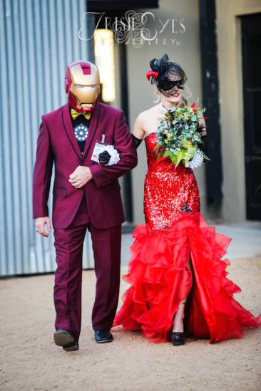 You Don't Have To Like Comic Books To Enjoy This Batman-Themed Wedding.