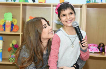 When Nancy met Noor: That magical moment Ajram made a cancer patient's dream come true (Watch The Video)